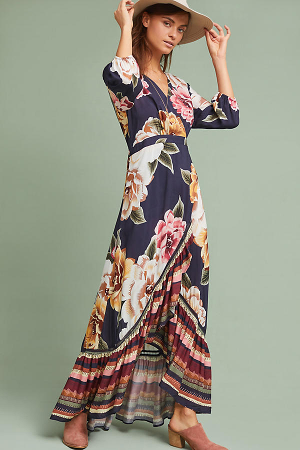 Farm Rio Layla Wrap Dress