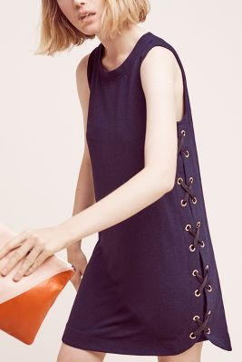 Isolde Lace-Up Dress
