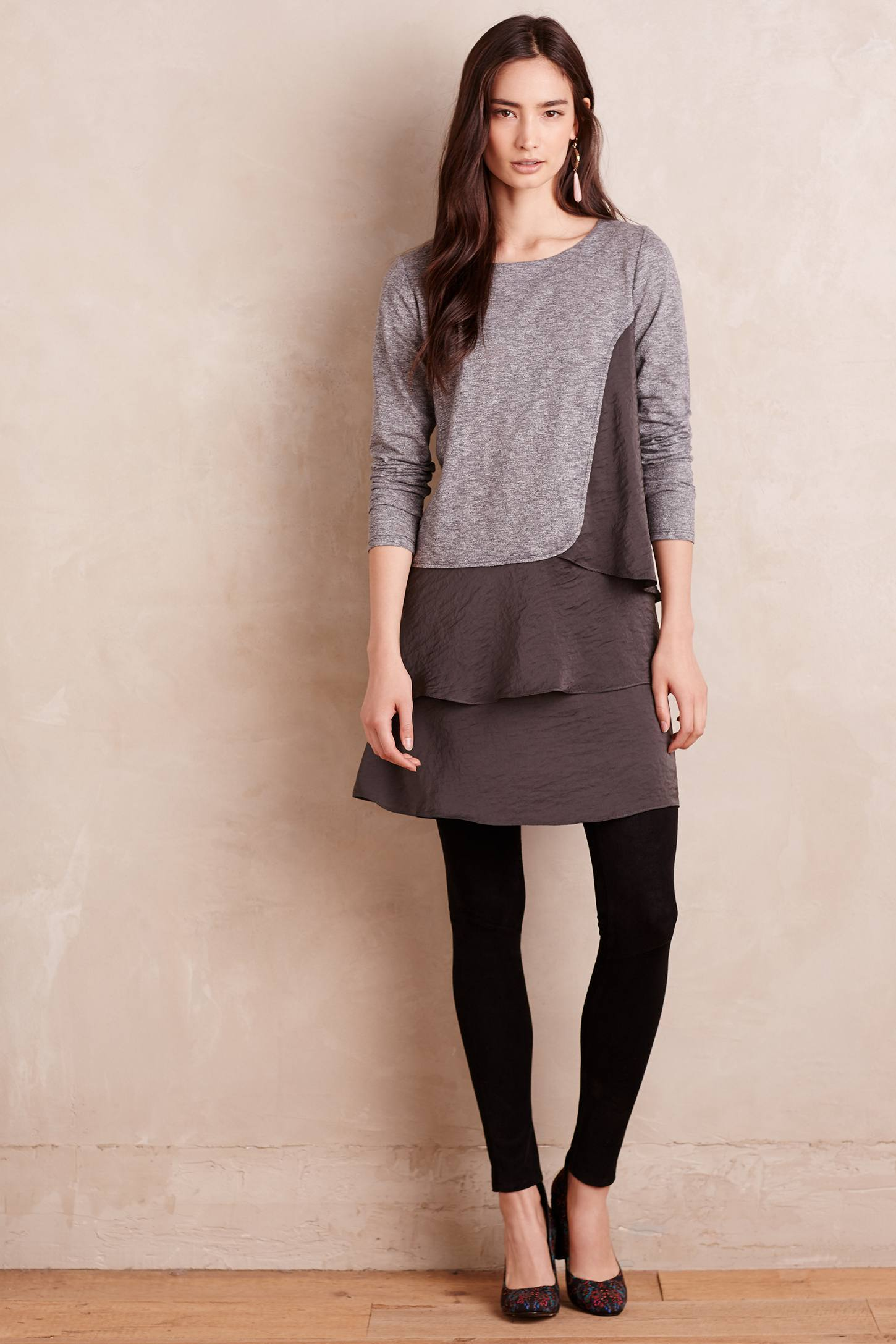 Strata Ruffled Tunic