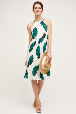 Pineapple Midi Dress