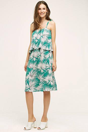 Fanned Palm Dress
