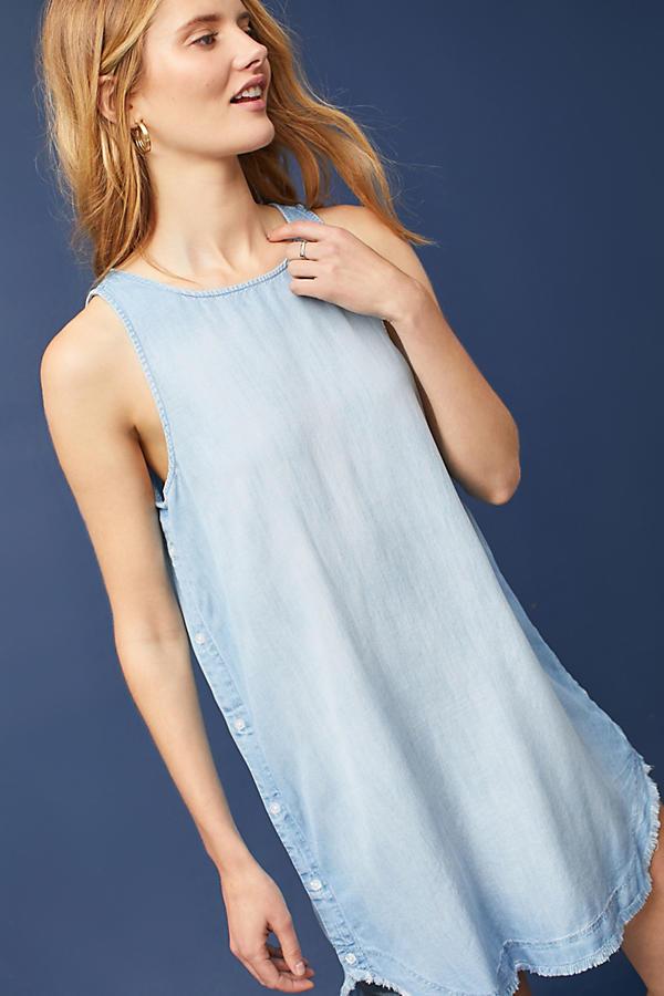 Cloth & Stone Chambray Tunic Dress