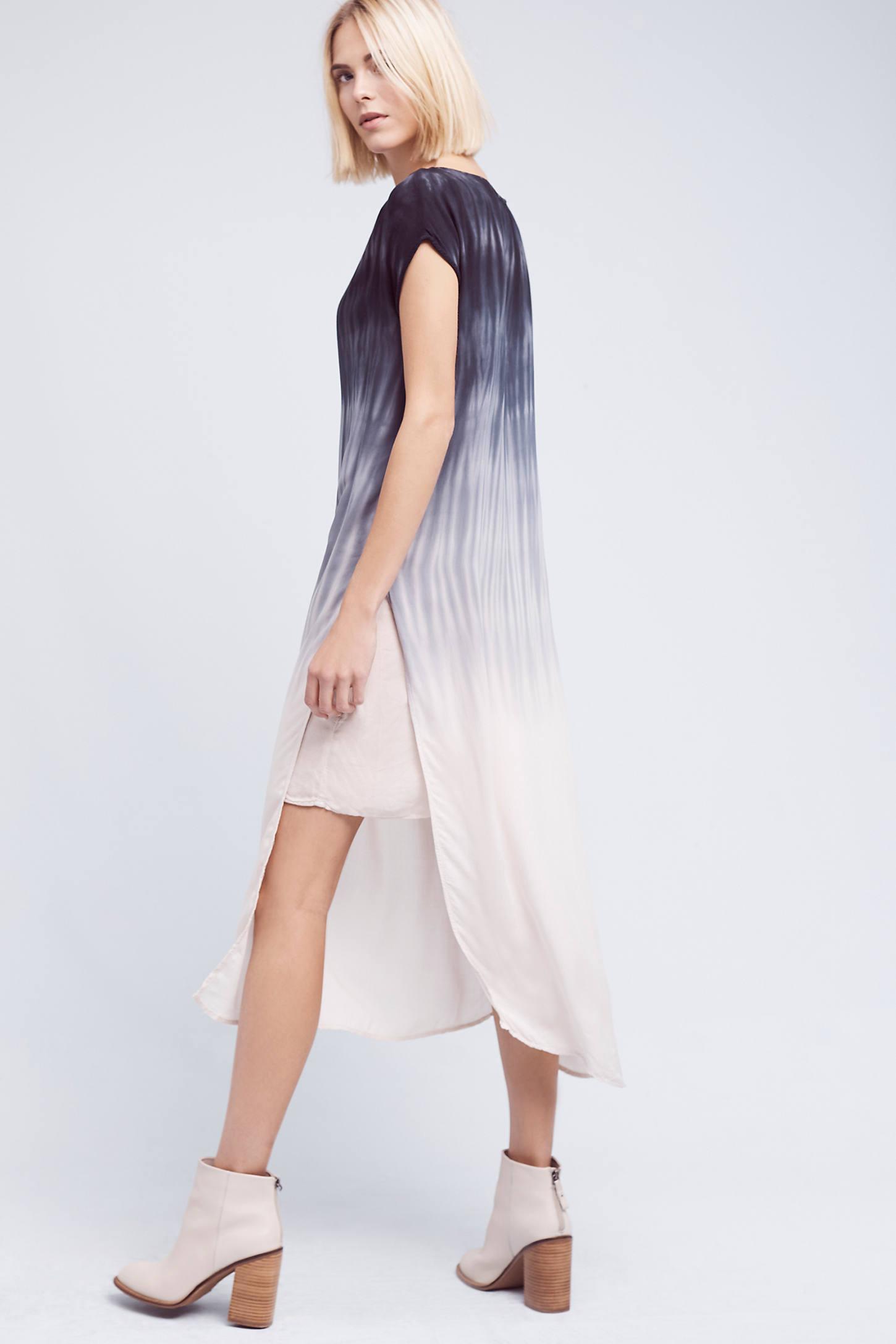 Horizon Fade Dress, Blue