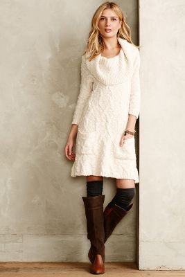 Meli Cable Sweater Dress