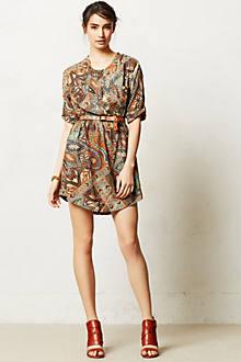 Paisley Palette Shirtdress