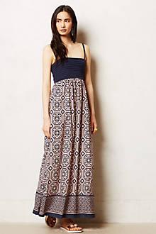 Carreau Maxi Dress