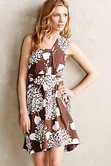 Wrapped Hydrangea Dress