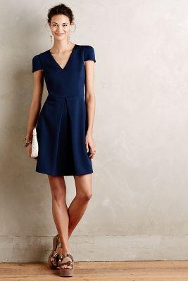 Thalassic Textured Dress
