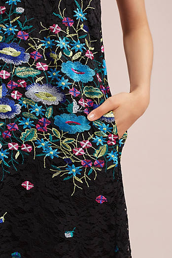 Providence Embroidered Swing Dress