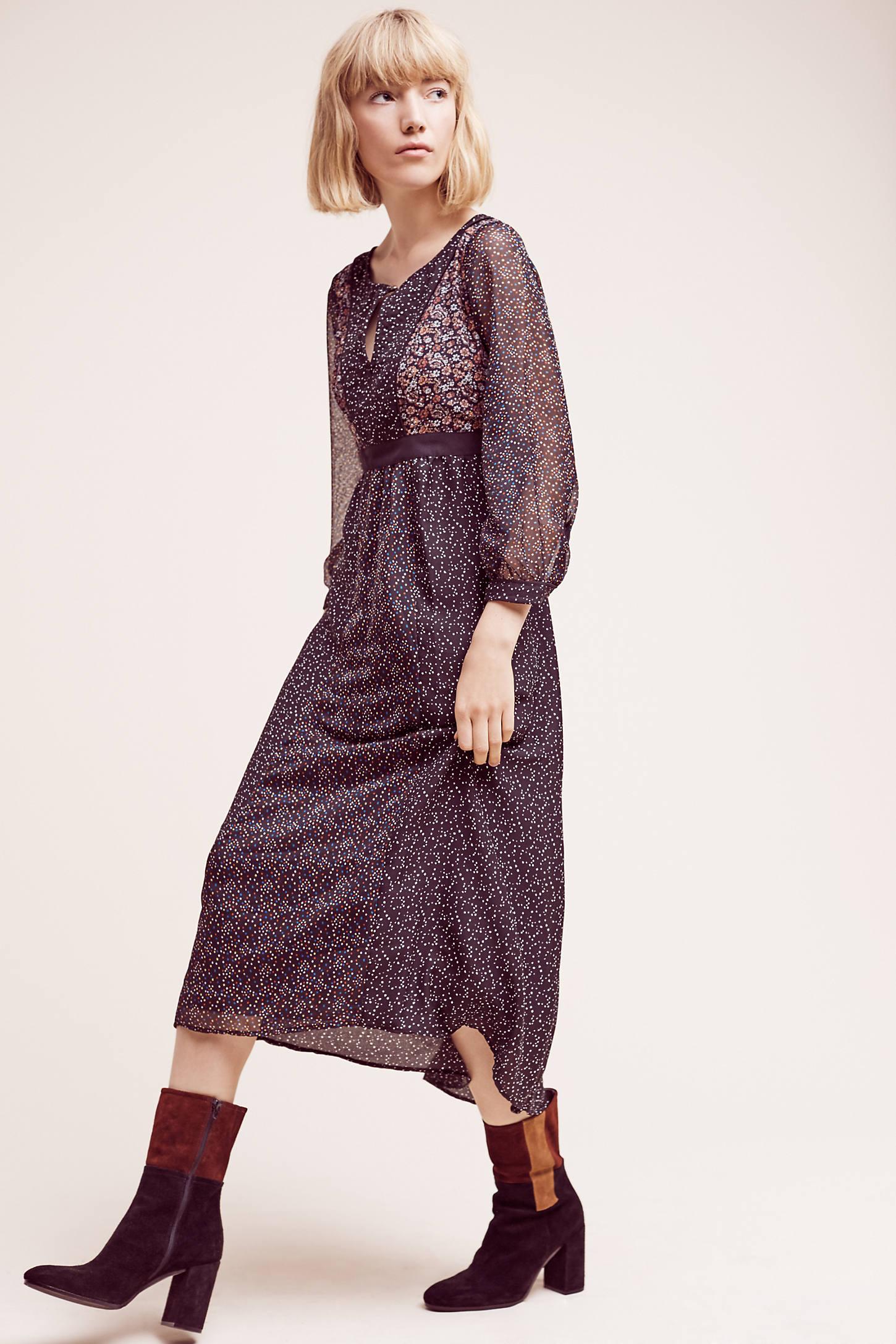 Countryside Maxi Dress, Black