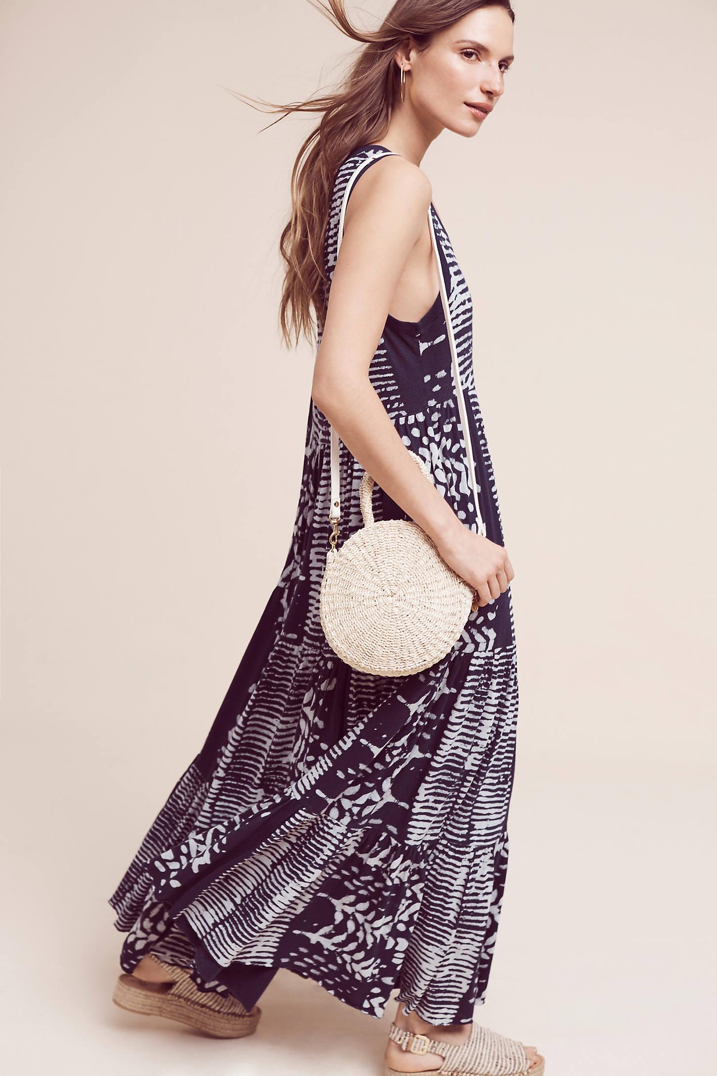 Ismene Printed Maxi Dress