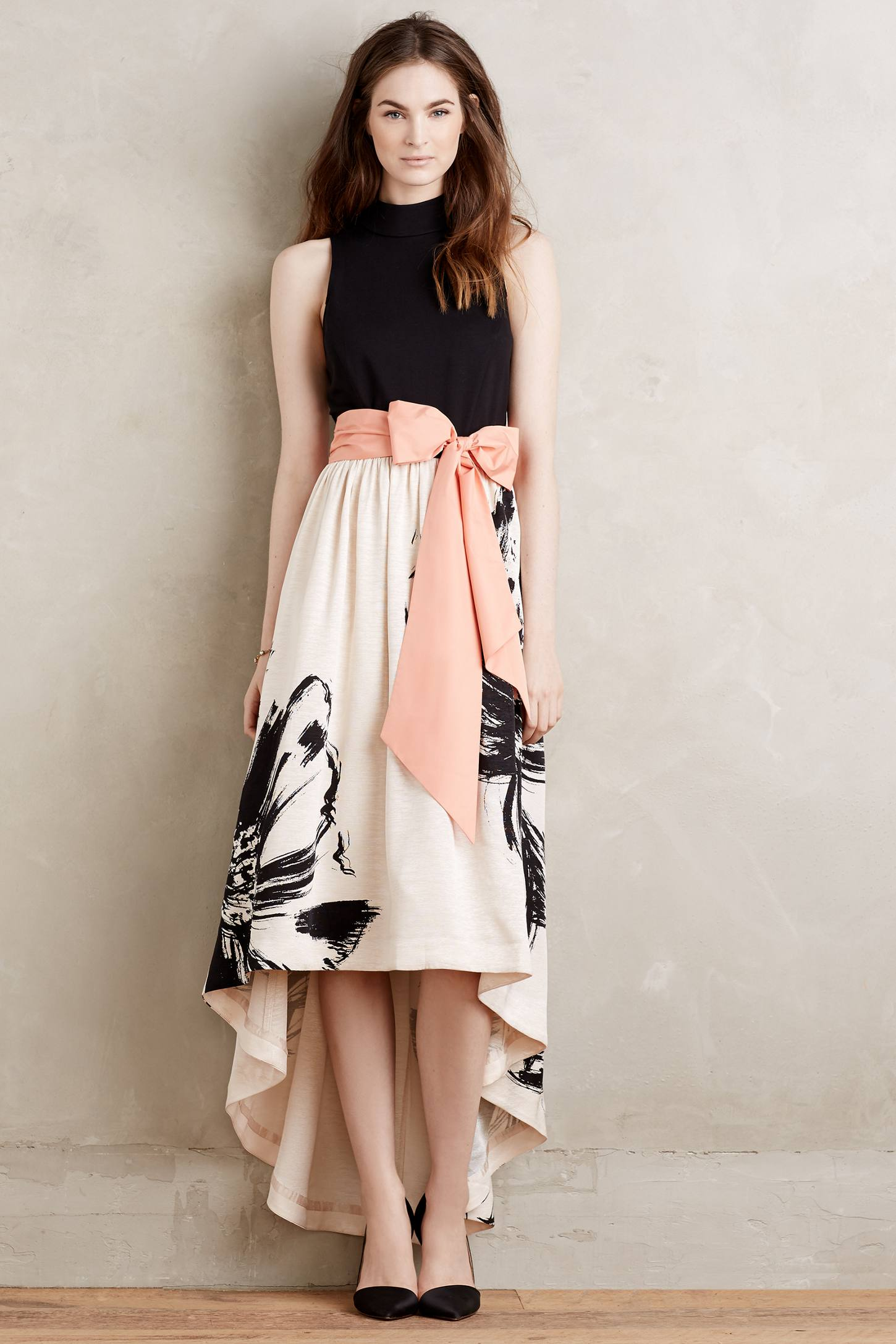 Sumi Mockneck Gown