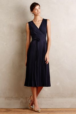 Pleated Merle Dress