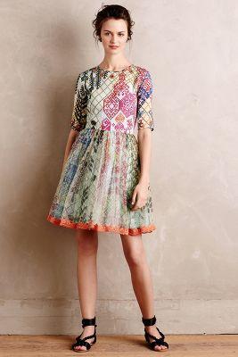 Ottilie Silk Dress