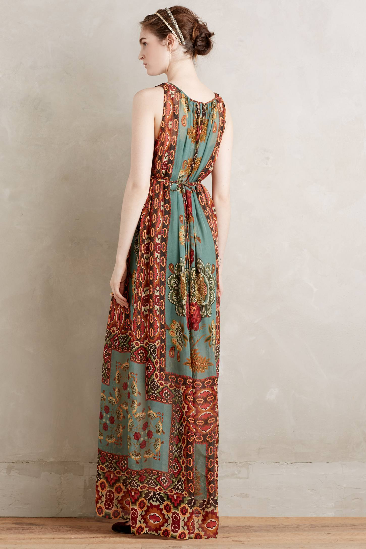Mathilde Silk Maxi Dress