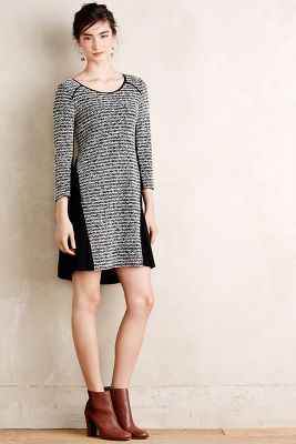 Robe ample en tricot ray�