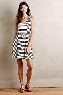 Cutout Stripes Dress