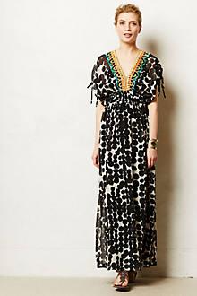 Vine Beaded Maxi Dress