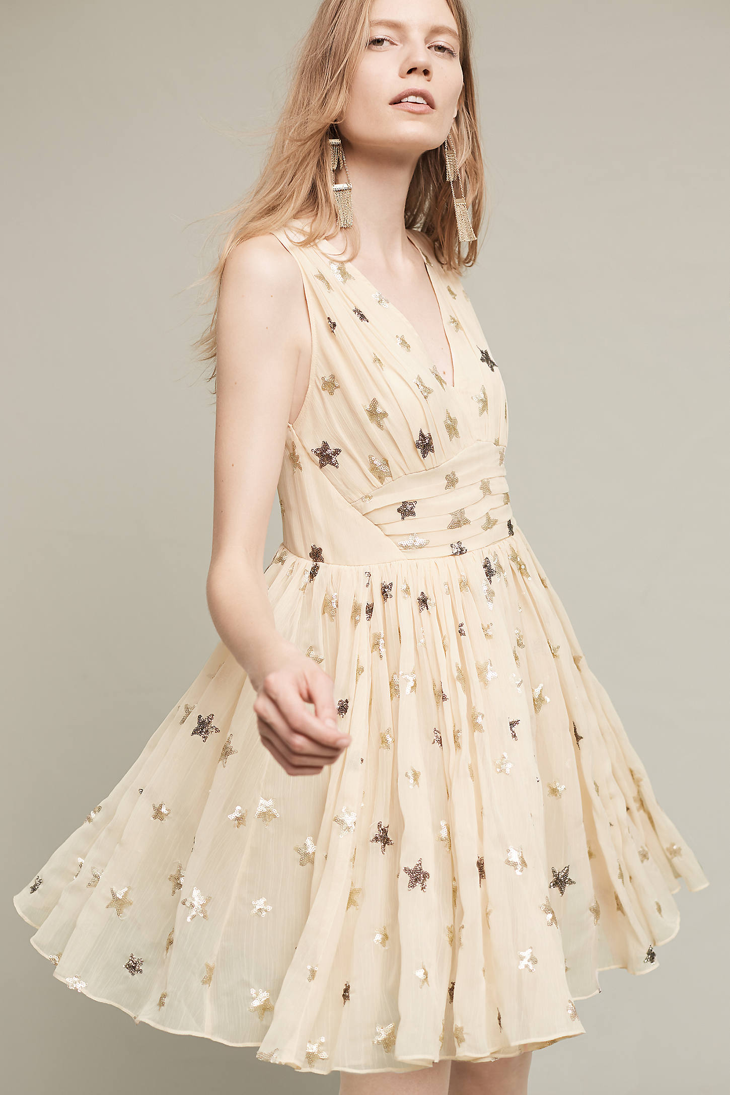 Sequined Stars Dress