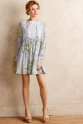 Pleated Greenhouse Dress