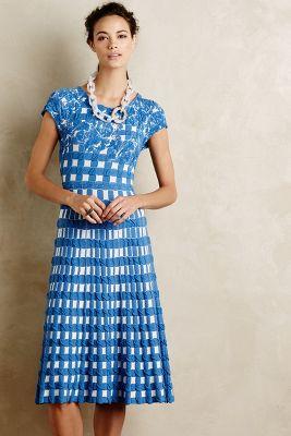 Gingham Garden Dress