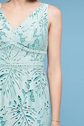 Gardenia Lace Column Dress
