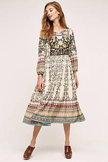 Far Fields Midi Dress