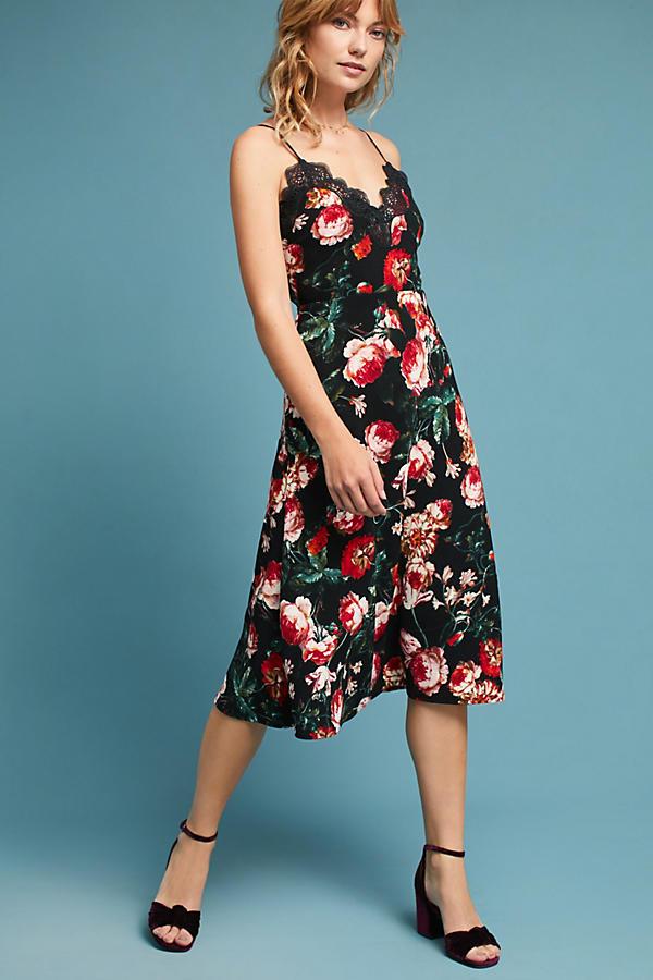 Autumnal Slip Dress