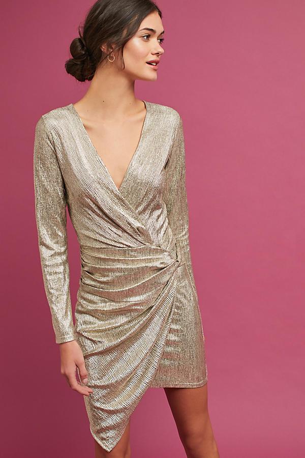 Shimmered Asymmetrical Dress