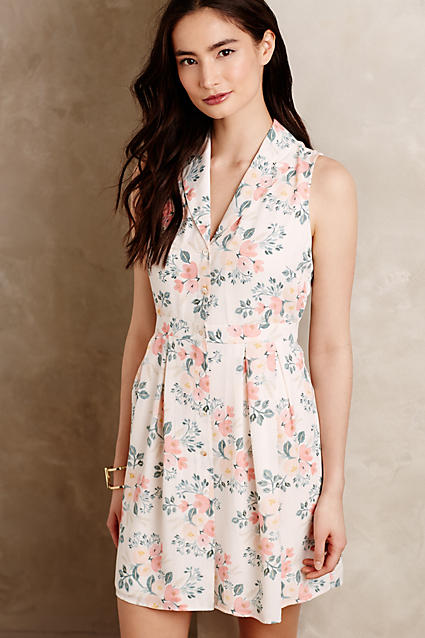 Sale alerts for Anthropologie Spring Bouquet Petite Dress - Covvet