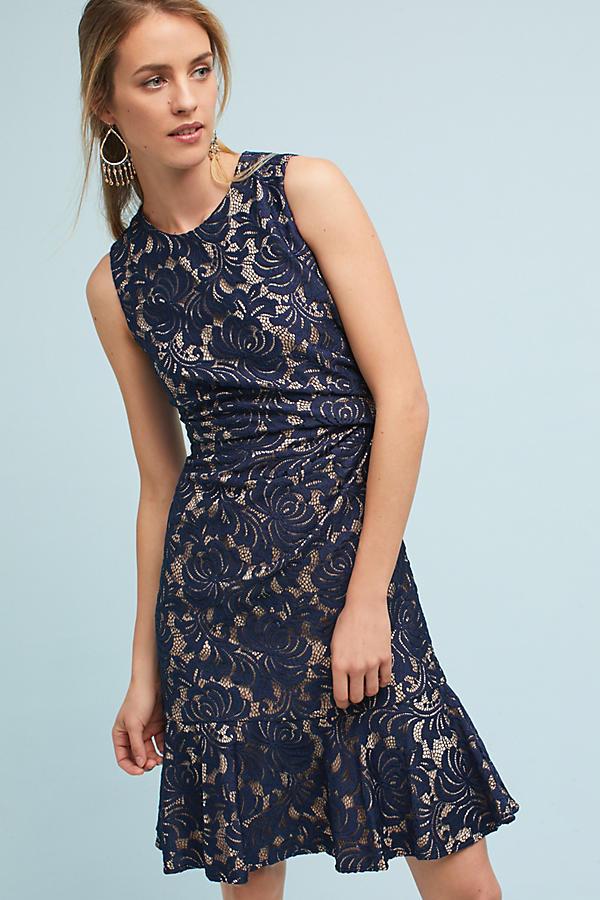 Maryanne Flounced Dress