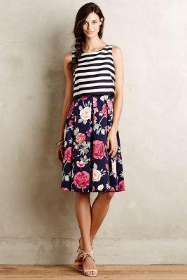 Split-Print Dress