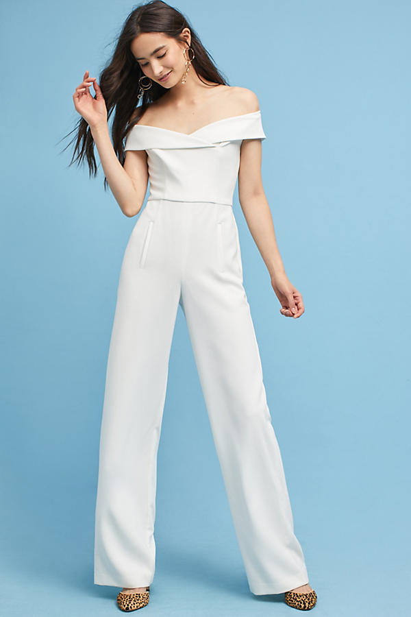 Ellie Off-The-Shoulder Jumpsuit