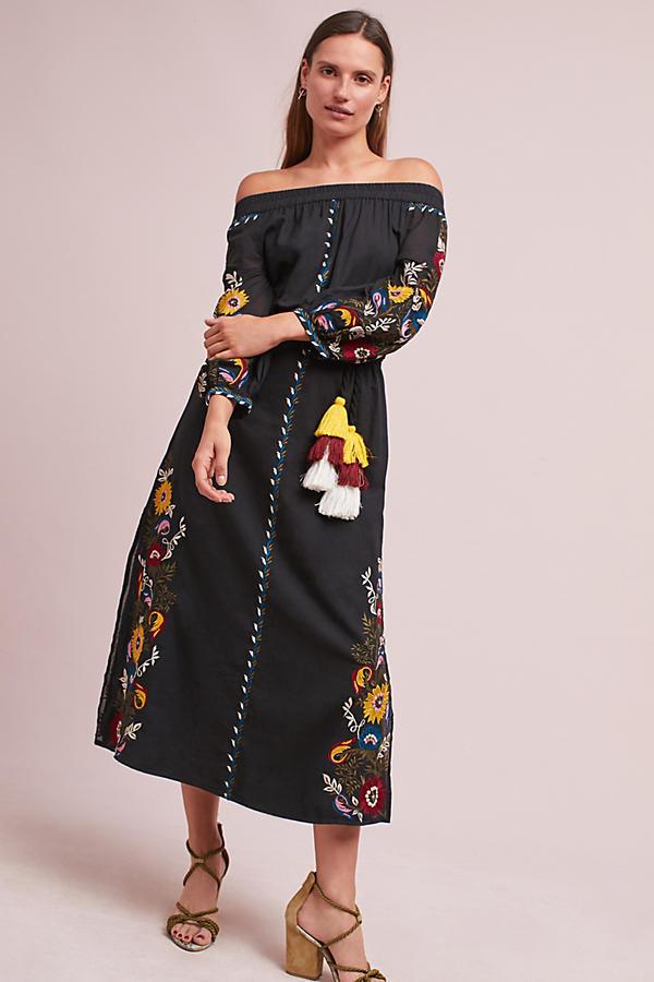 Seine Off-The-Shoulder Dress