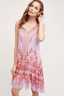 Wisteria Silk Dress