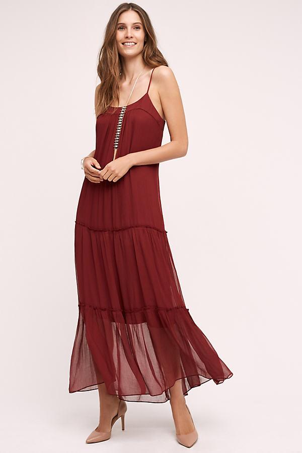 Saffa Chiffon Maxi Dress