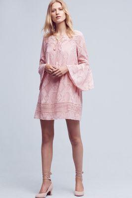 Esme Bell-Sleeve Dress