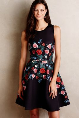 Rose Garland Dress