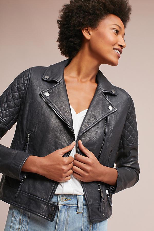 AG The Larissa Leather Moto Jacket