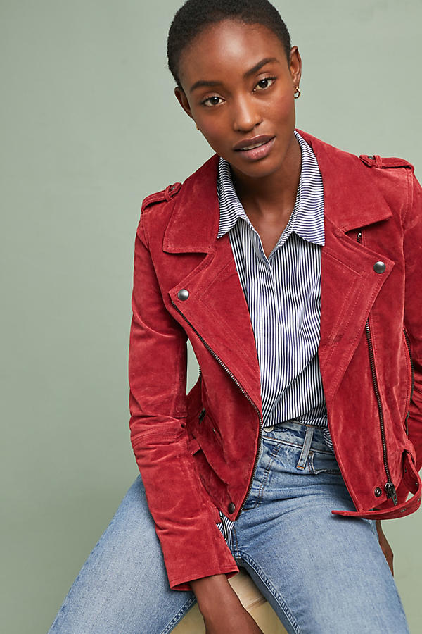 Valentine Leather Moto Jacket