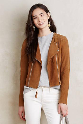 Paige Leather Moto Jacket