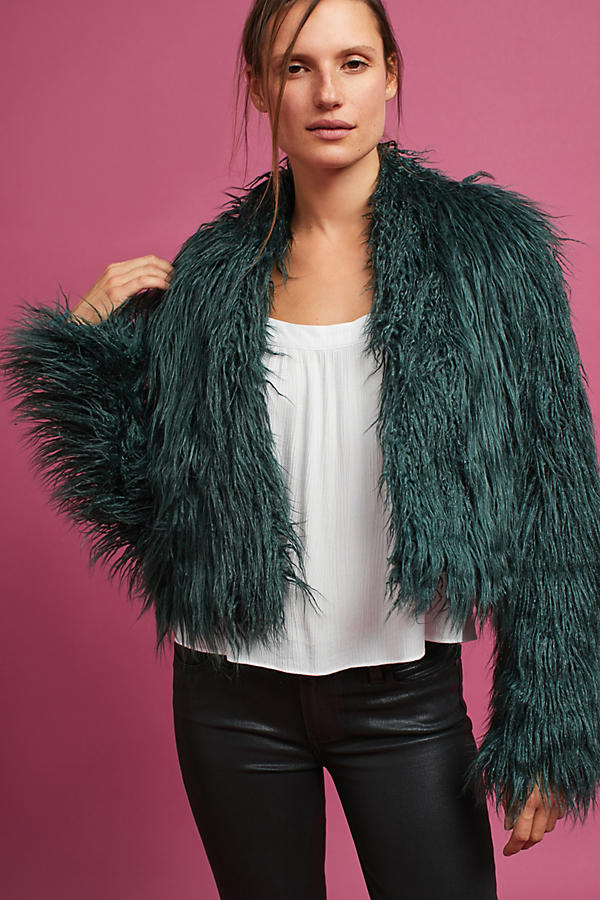 Aurora Faux Fur Coat
