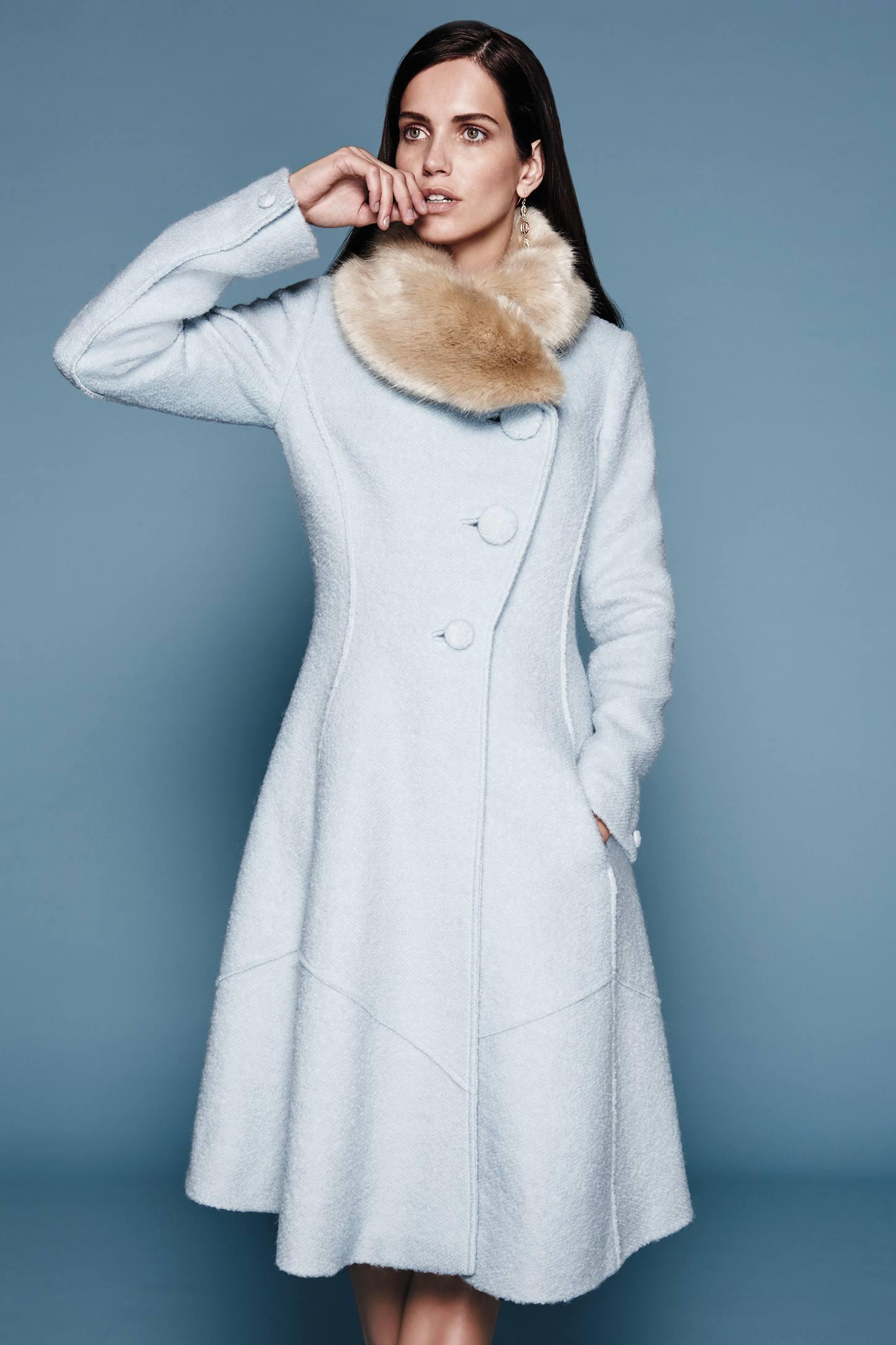 Collared Beatrix Coat