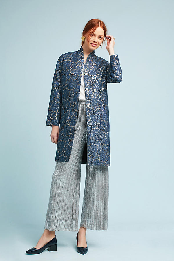 Bluegold Floral Coat