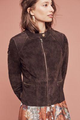 Nadia Leather Moto Jacket