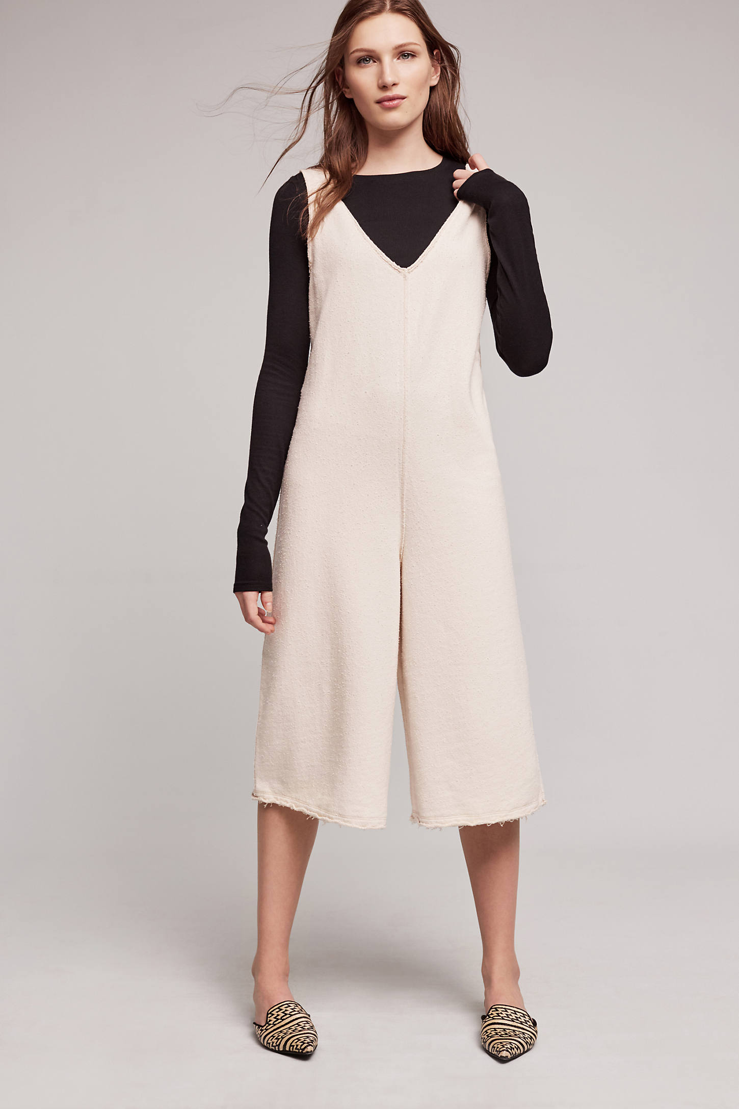 Abode Terry Jumpsuit, Neutral