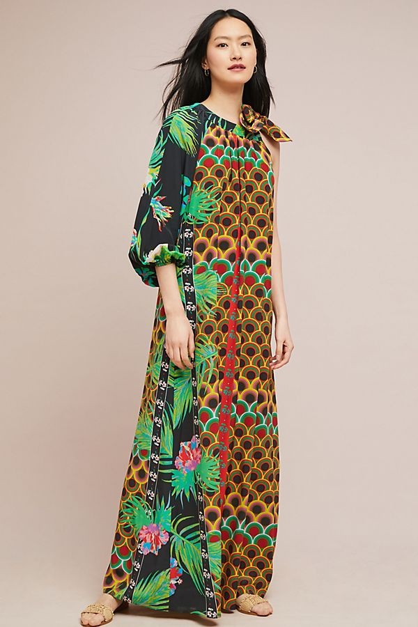 ea4f000d8f Miss Selfridge kimono sleeve floral printed maxi dress. 9 months ago.  72.  save. Anthropologie