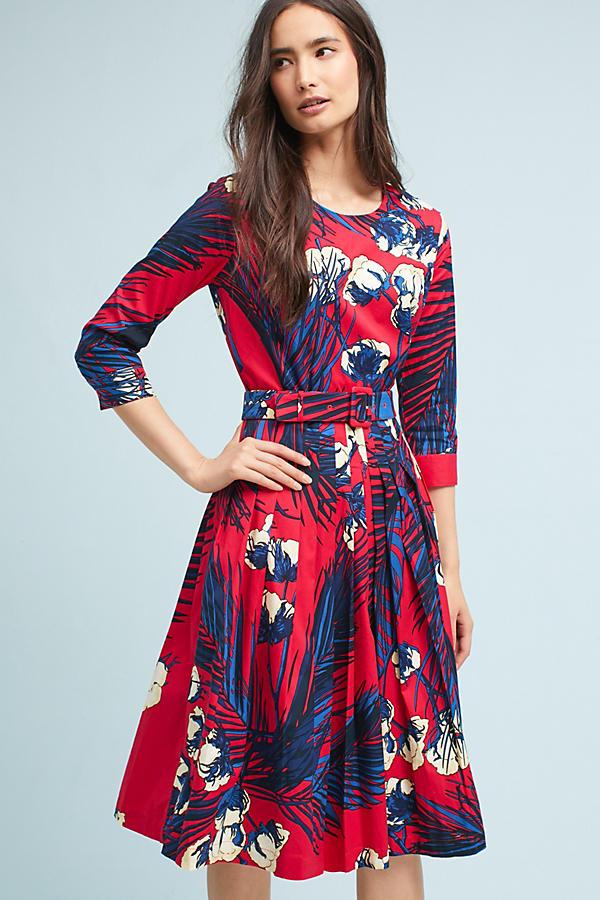 Margot Palm Dress