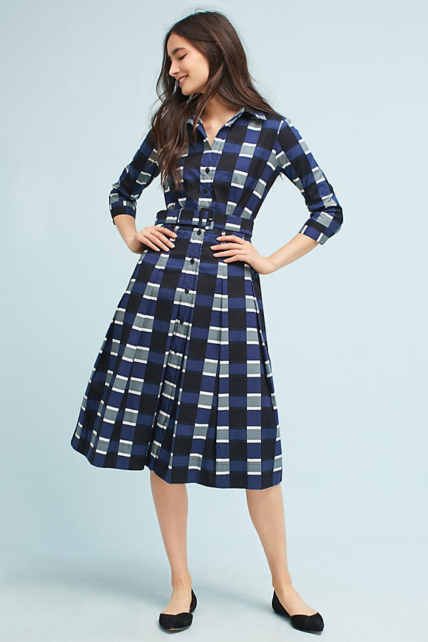 Patricia Check Shirt Dress