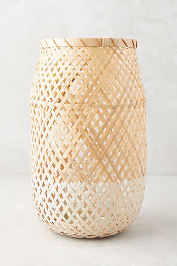 Dinant Wicker Candle Holder